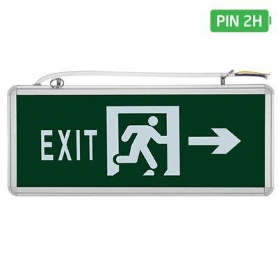Đèn Exit 1 mặt ELK2008R